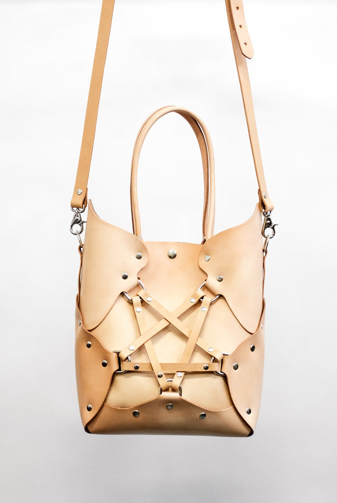 Pentagram Handbag - Tan