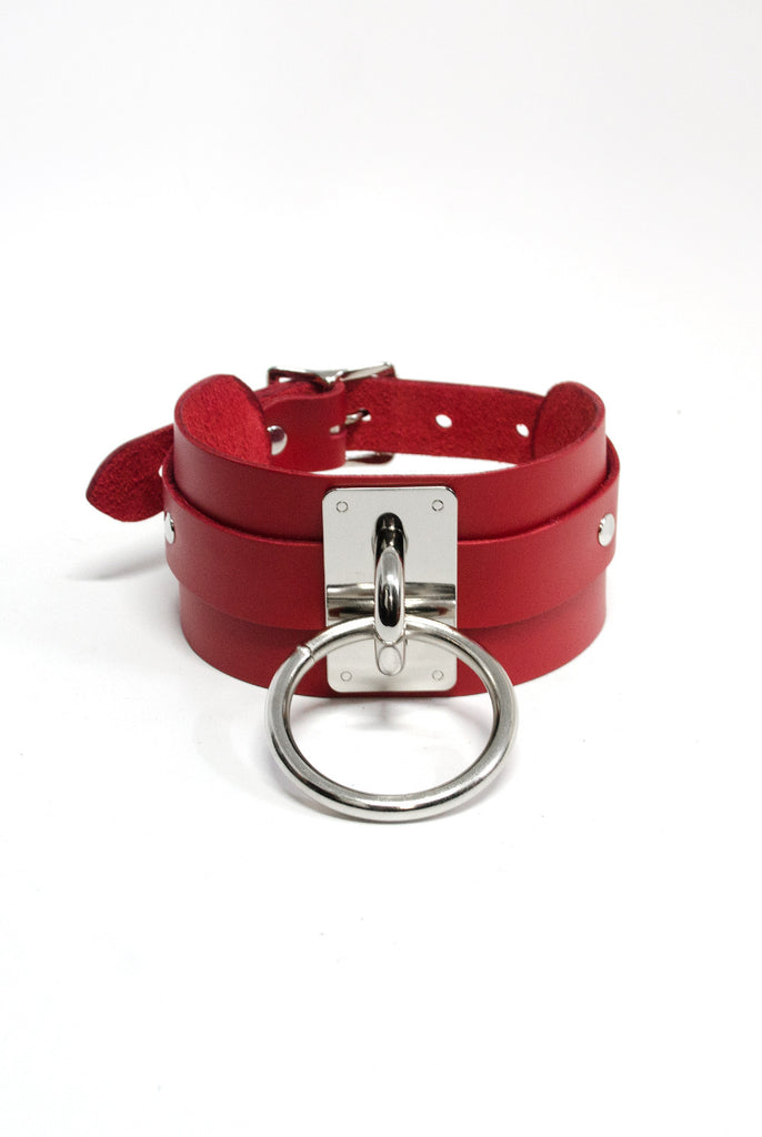 SEE NOW SHIP NOW - Choker Collar - Red