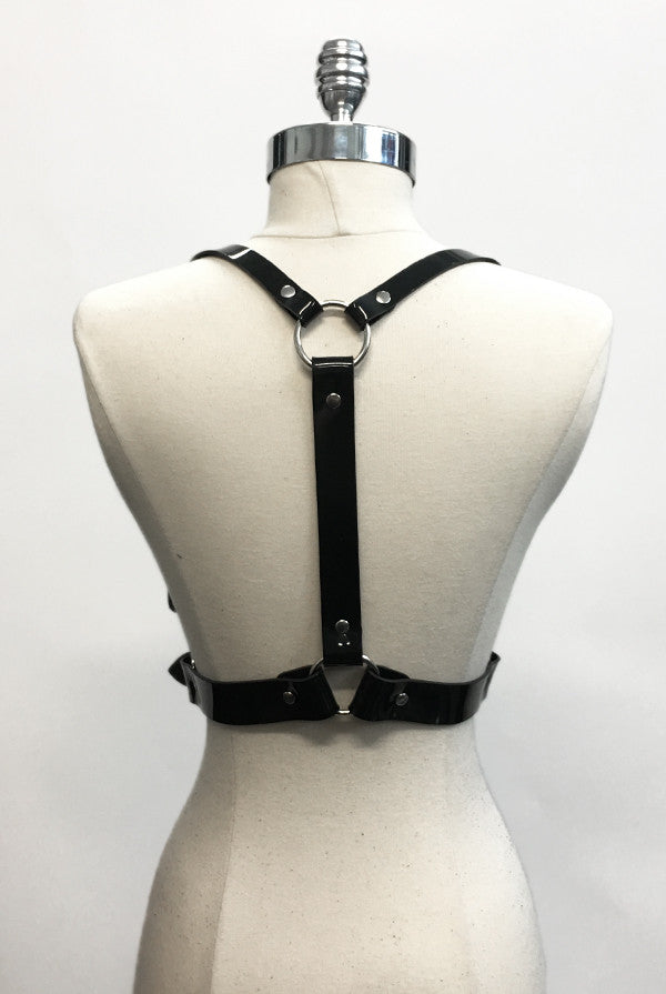 Signature Harness - Black PVC