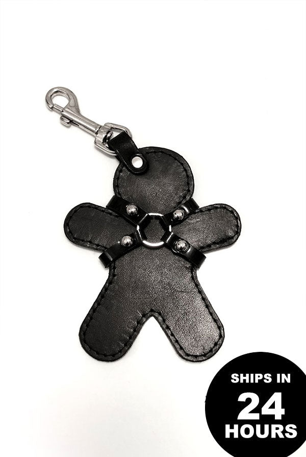 SEE NOW SHIP NOW - Leather Buddy Keychain