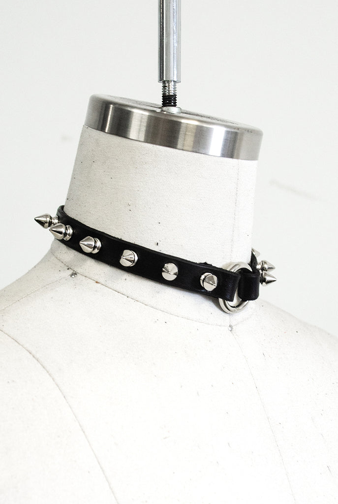 SEE NOW SHIP NOW - Signature Choker - Spiked