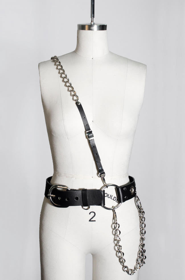 Ludlow Harness Belt with Chain