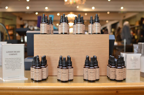 London Beard Company in Fortnum & Mason