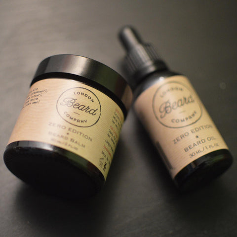 Zero Edition Beard Balm and Beard Oil - London Beard Company