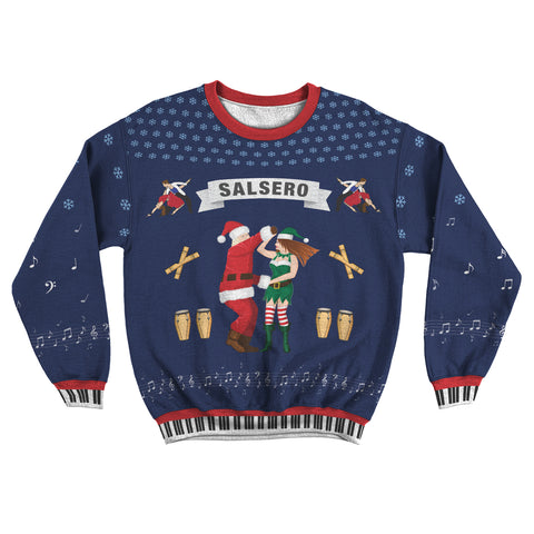 Salsero Ugly Christmas Sweater