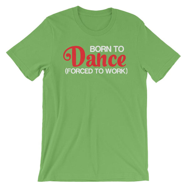 Born To Dance - Men's T-Shirt (Leaf)