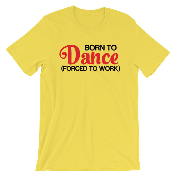 Born To Dance - Men's T-Shirt (Yellow)