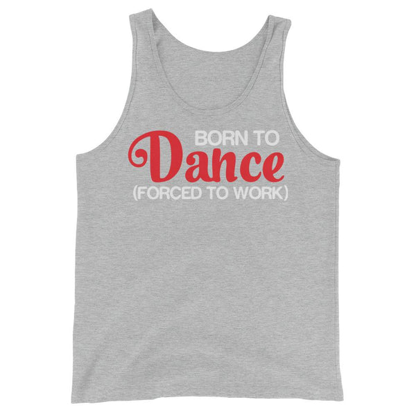 Born To Dance - Men's Tank Top (Athletic Heather)