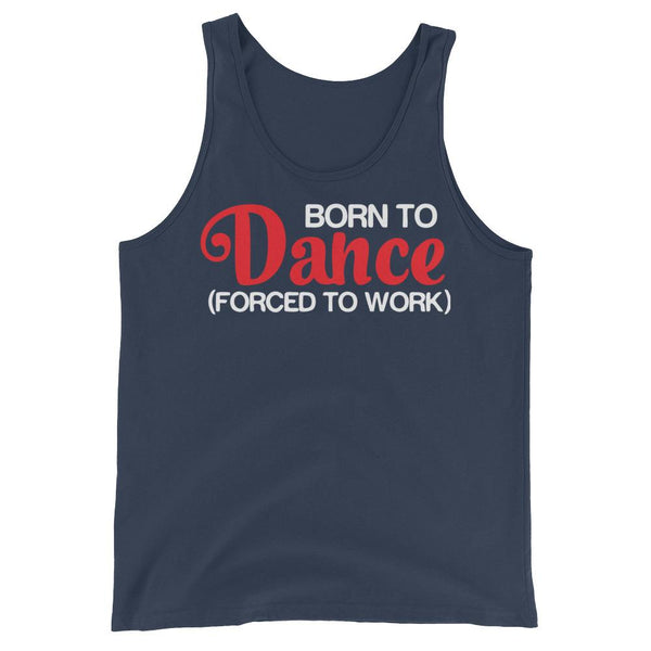 Born To Dance - Men's Tank Top (Navy)