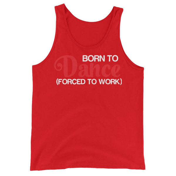 Born To Dance - Men's Tank Top (Red)