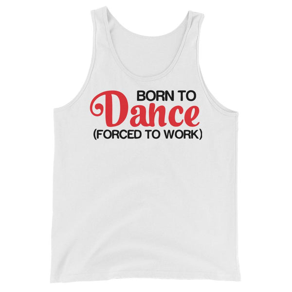 Born To Dance - Men's Tank Top (White)