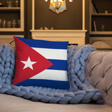 Cuban Flag Pillow