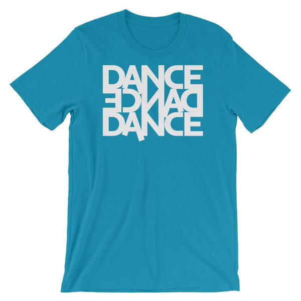Dance Dance Dance - Men's T-Shirt (Aqua)