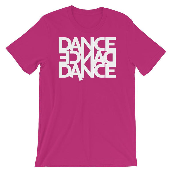 Dance Dance Dance - Men's T-Shirt (Berry)
