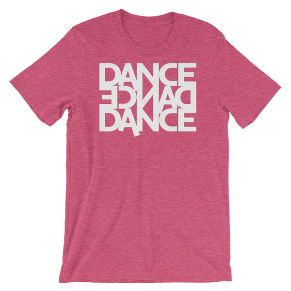 Dance Dance Dance - Men's T-Shirt (Heather Raspberry)