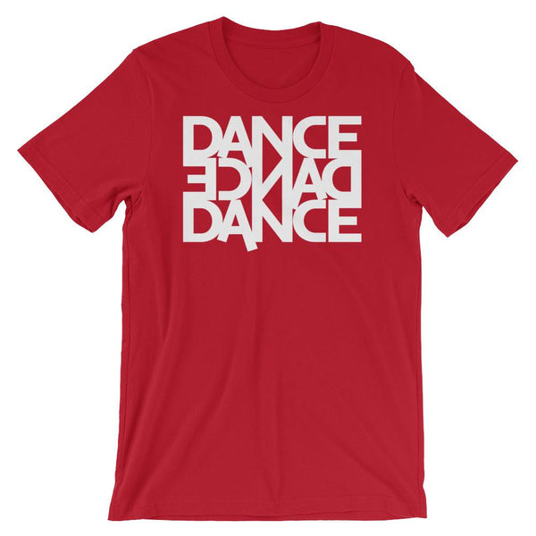 Dance Dance Dance - Men's T-Shirt (Red)