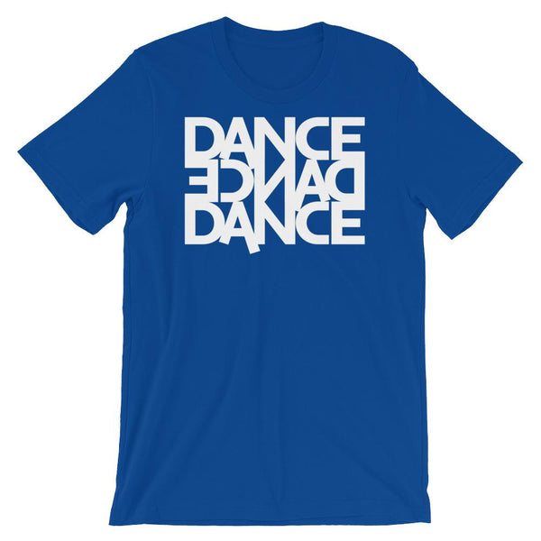 Dance Dance Dance - Men's T-Shirt (True Royal)