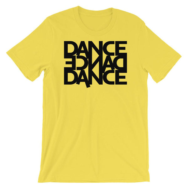 Dance Dance Dance - Men's T-Shirt (Yellow)