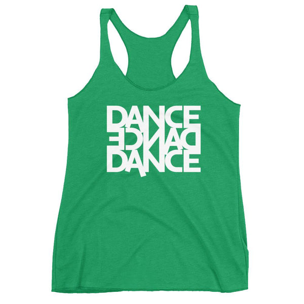 Dance Dance Dance - Women's Tank Top (Envy)