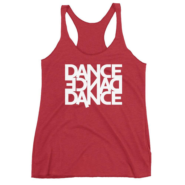 Dance Dance Dance - Women's Tank Top (Vintage Red)