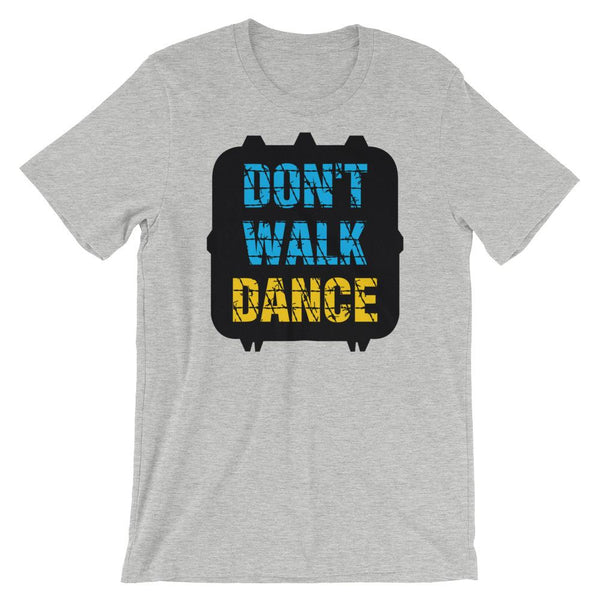 Don't Walk, Dance - Women's T-Shirt (Athletic Heather)
