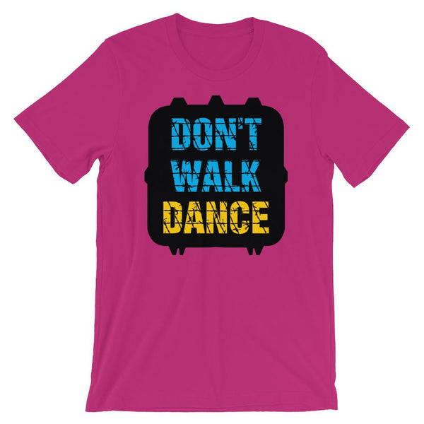 Don't Walk, Dance - Women's T-Shirt (Berry)