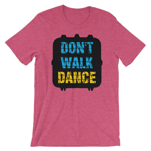 Don't Walk, Dance - Women's T-Shirt (Heather Raspberry)