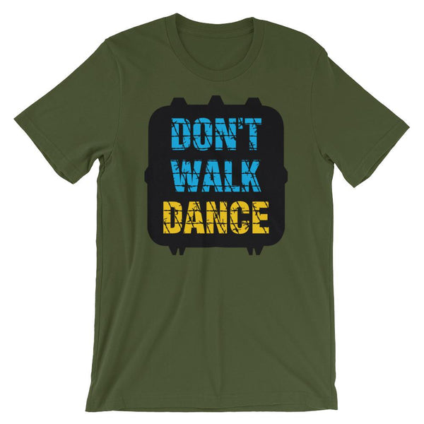 Don't Walk, Dance - Women's T-Shirt (Olive)