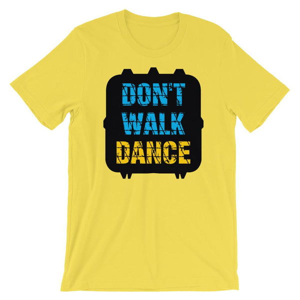 Don't Walk, Dance - Women's T-Shirt (Yellow)