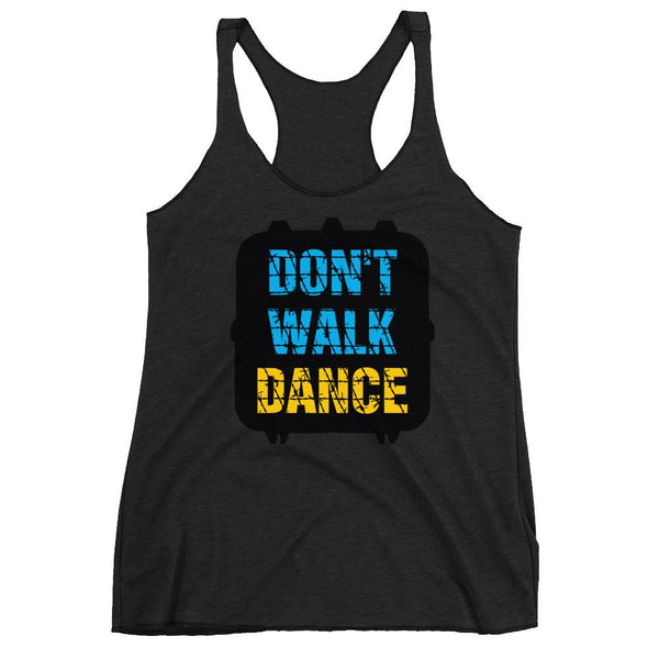 Don't Walk, Dance - Women's Tank Top (Vintage Black)