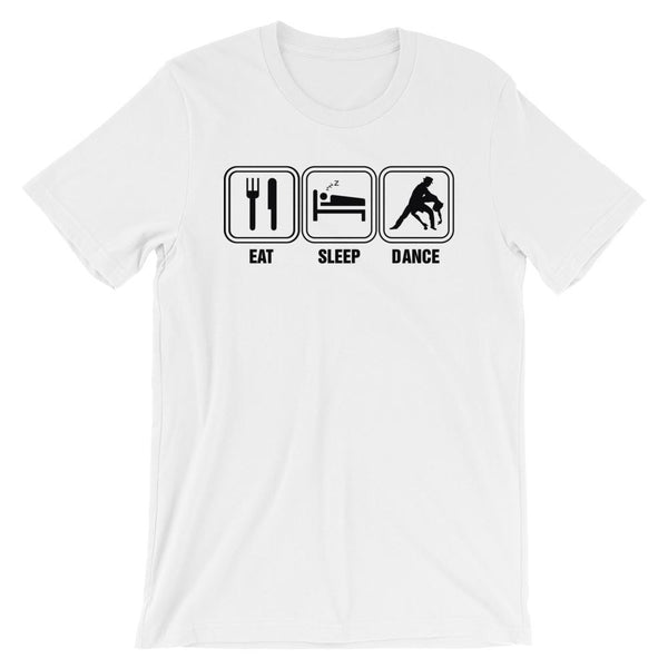 Eat Sleep Dance - Men's T-Shirt (White)