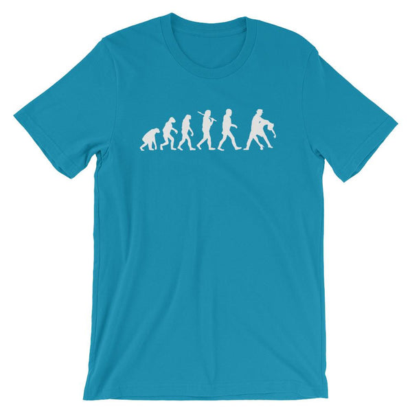 Evolution of Salsa - Men's T-Shirt (Aqua)