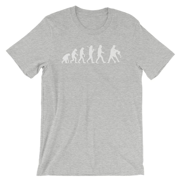 Evolution of Salsa - Men's T-Shirt (Athletic Heather)