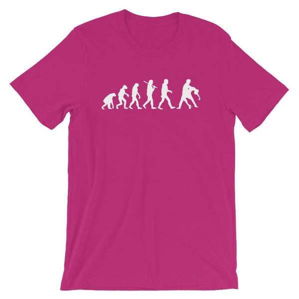 Evolution of Salsa - Men's T-Shirt (Berry)