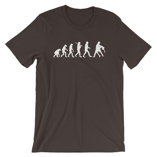 Evolution of Salsa - Men's T-Shirt (Brown)