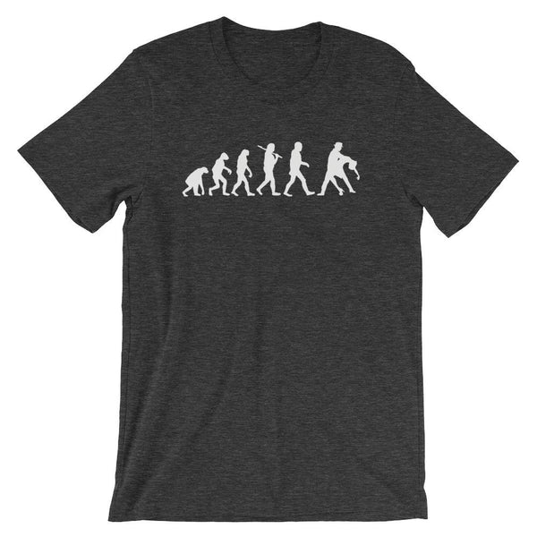 Evolution of Salsa - Men's T-Shirt (Dark Grey Heather)