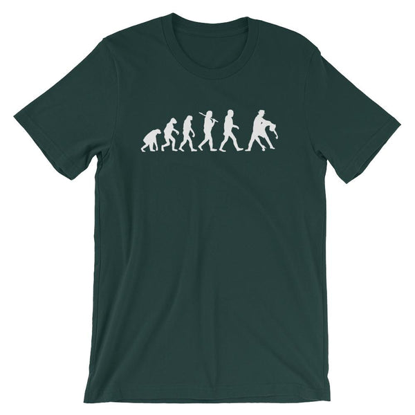 Evolution of Salsa - Men's T-Shirt (Forest)