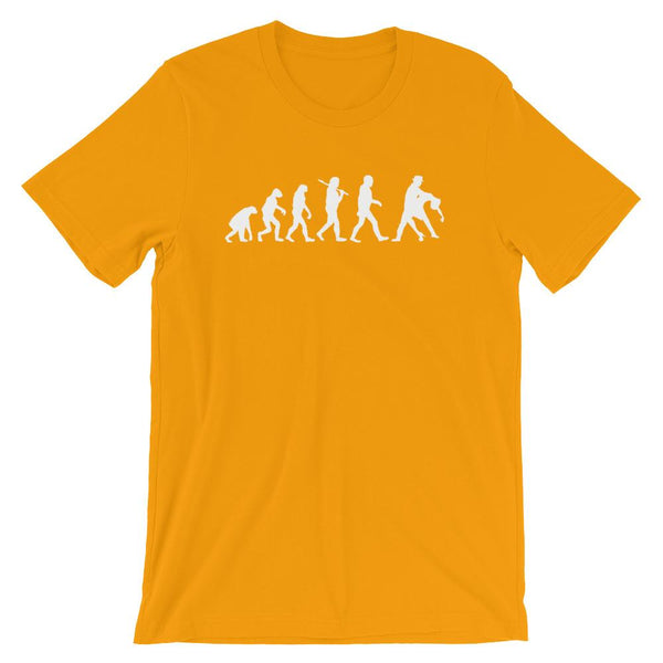 Evolution of Salsa - Men's T-Shirt (Gold)