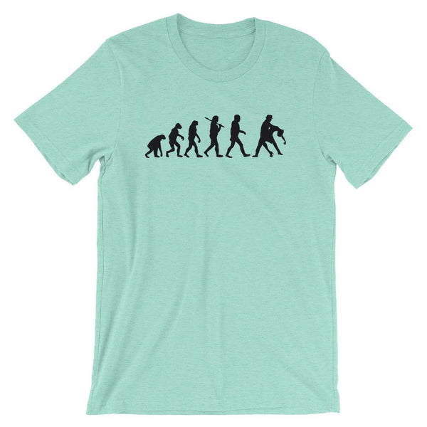 Evolution of Salsa - Men's T-Shirt (Heather Mint)
