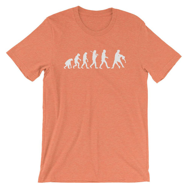 Evolution of Salsa - Men's T-Shirt (Heather Orange)