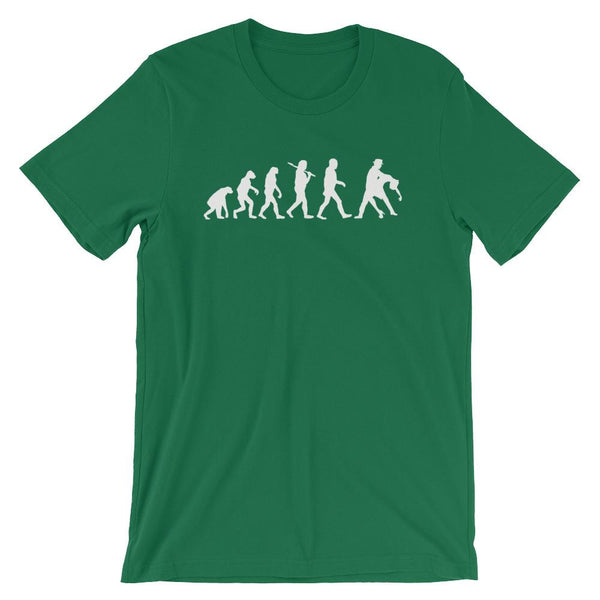 Evolution of Salsa - Men's T-Shirt (Kelly)