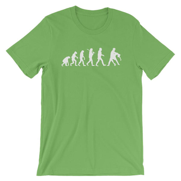 Evolution of Salsa - Men's T-Shirt (Leaf)