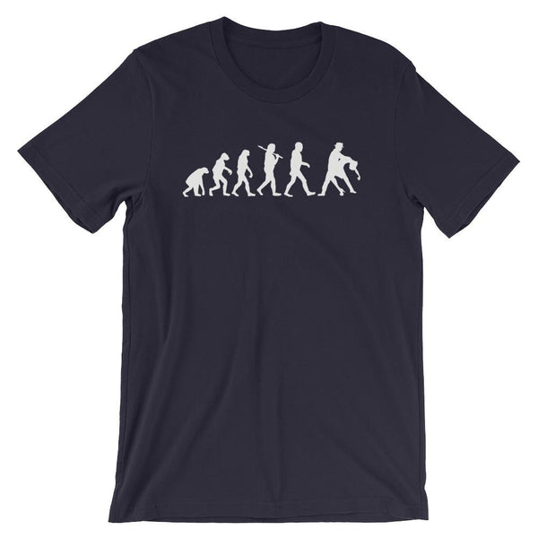 Evolution of Salsa - Men's T-Shirt (Navy)