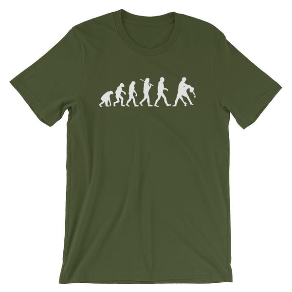 Evolution of Salsa - Men's T-Shirt (Olive)