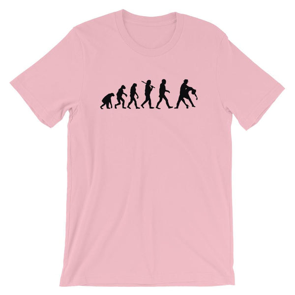 Evolution of Salsa - Men's T-Shirt (Pink)