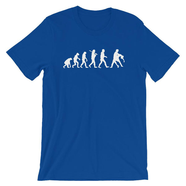 Evolution of Salsa - Men's T-Shirt (True Royal)