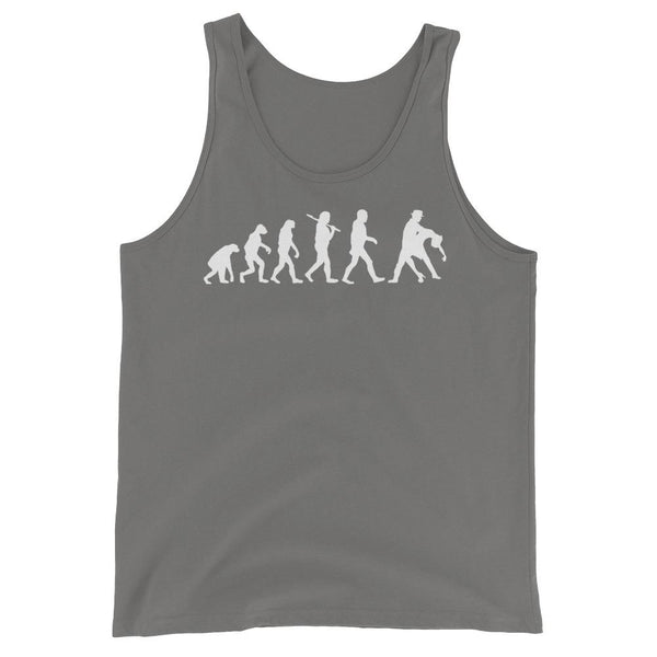 Evolution of Salsa - Men's Tank Top (Asphalt)