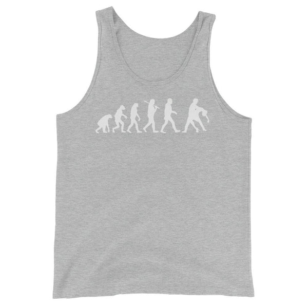 Evolution of Salsa - Men's Tank Top (Athletic Heather)