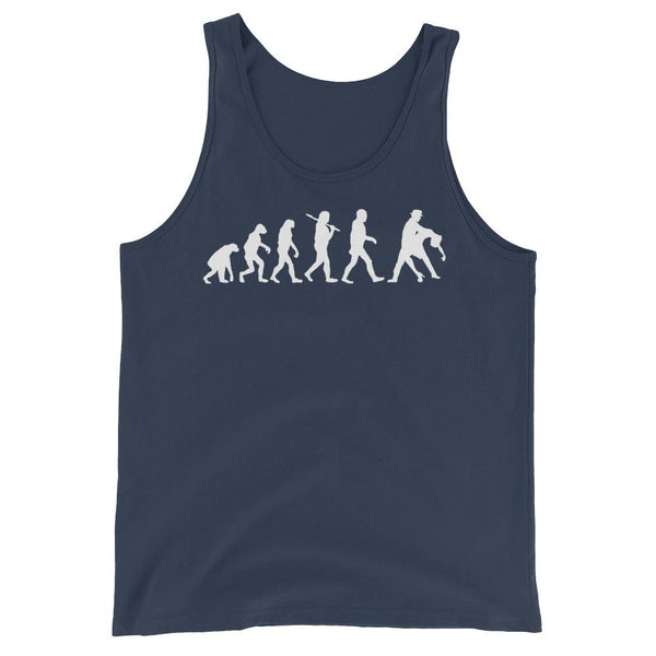 Evolution of Salsa - Men's Tank Top (Navy)