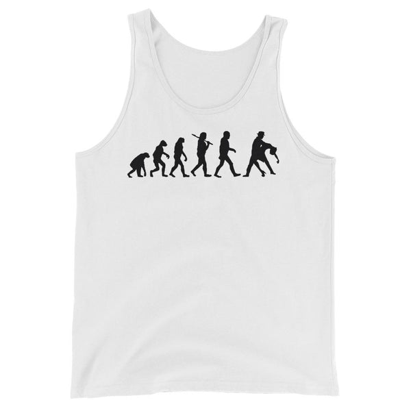 Evolution of Salsa - Men's Tank Top (White)